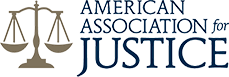 Image of the American Association for Justice Logo